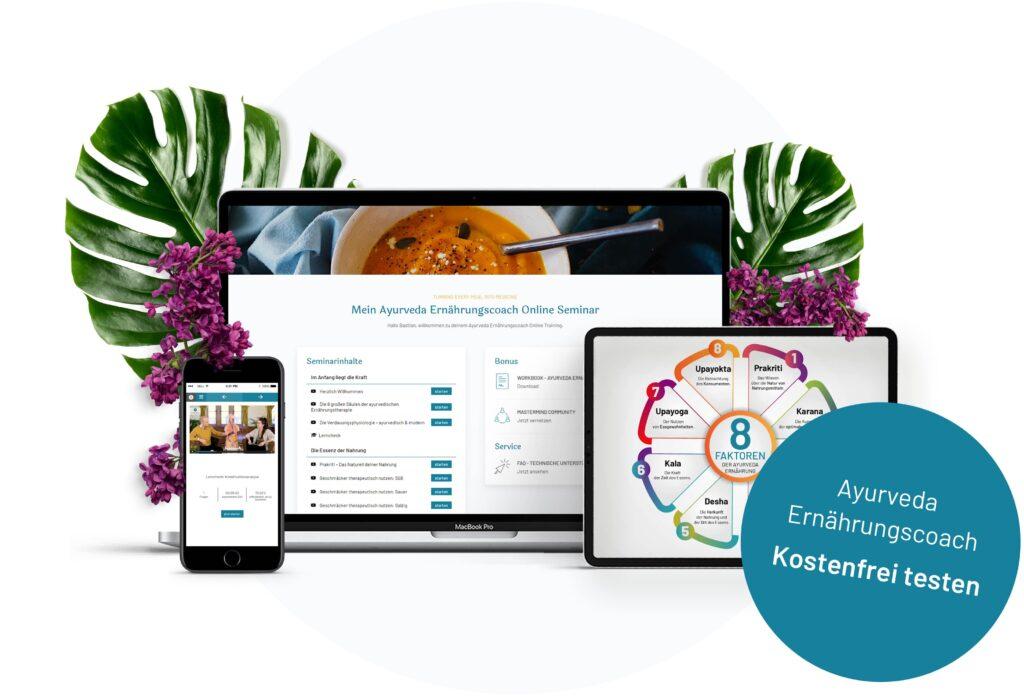 Ayurveda Online Kurs - Ayurveda Ernährungscoach