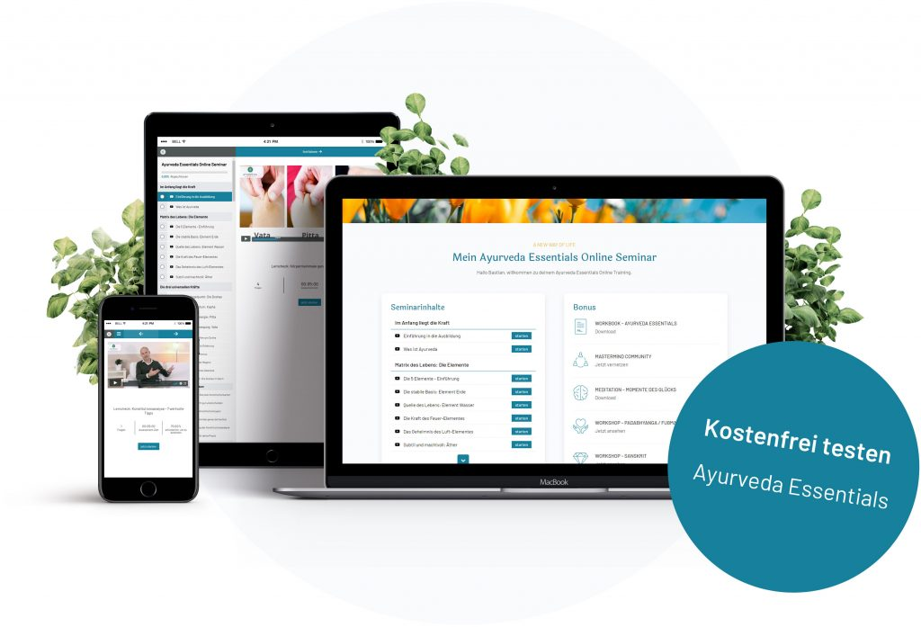 Ayurveda Online Kurs - Ayurveda Essentials Testzugang